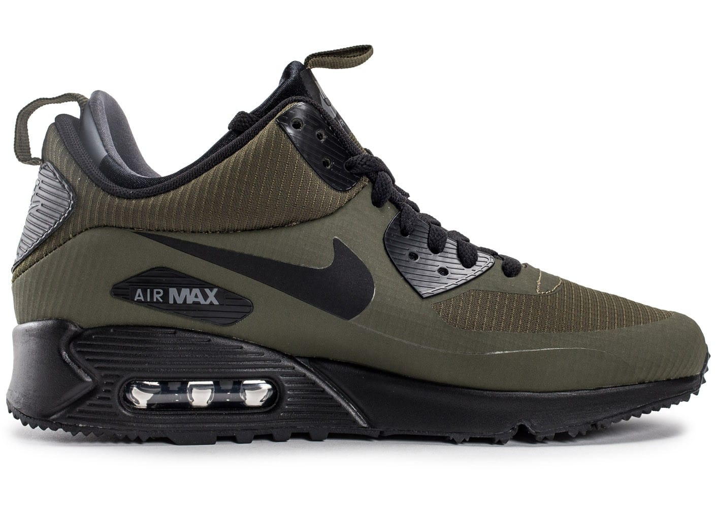 nike air max 90 mid winter green chaussures homme chausport. Black Bedroom Furniture Sets. Home Design Ideas