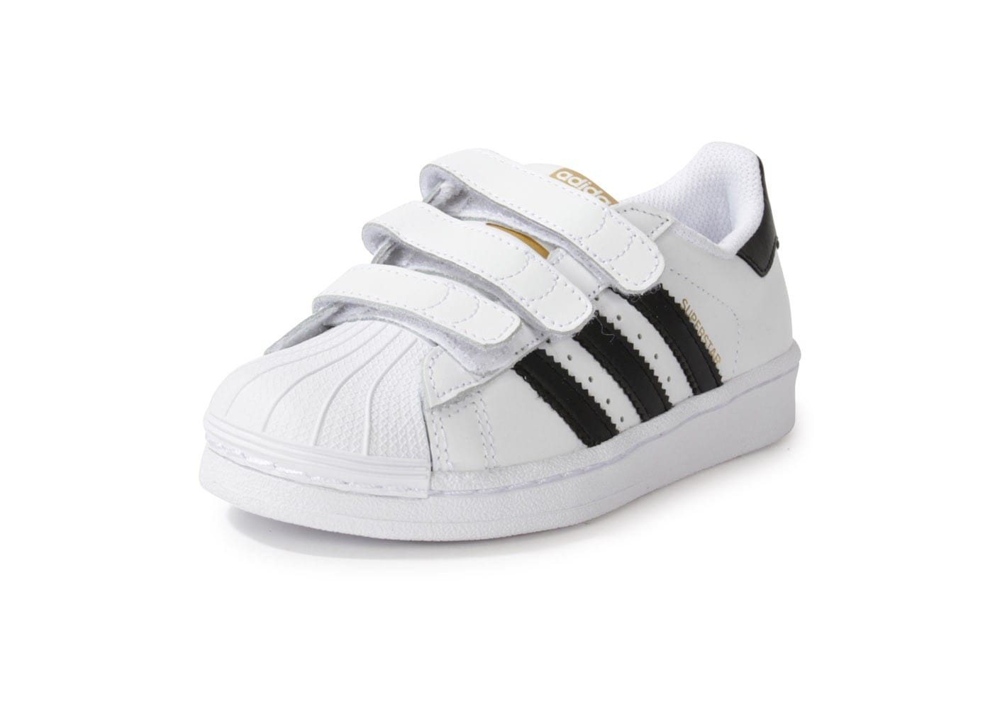 adidas superstar foundation enfant blanche chaussures adidas chausport. Black Bedroom Furniture Sets. Home Design Ideas
