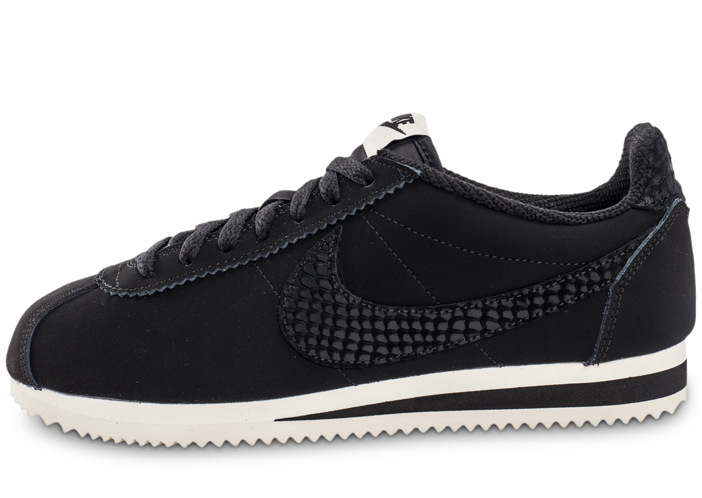 nike cortez leather se noire chaussures homme chausport. Black Bedroom Furniture Sets. Home Design Ideas