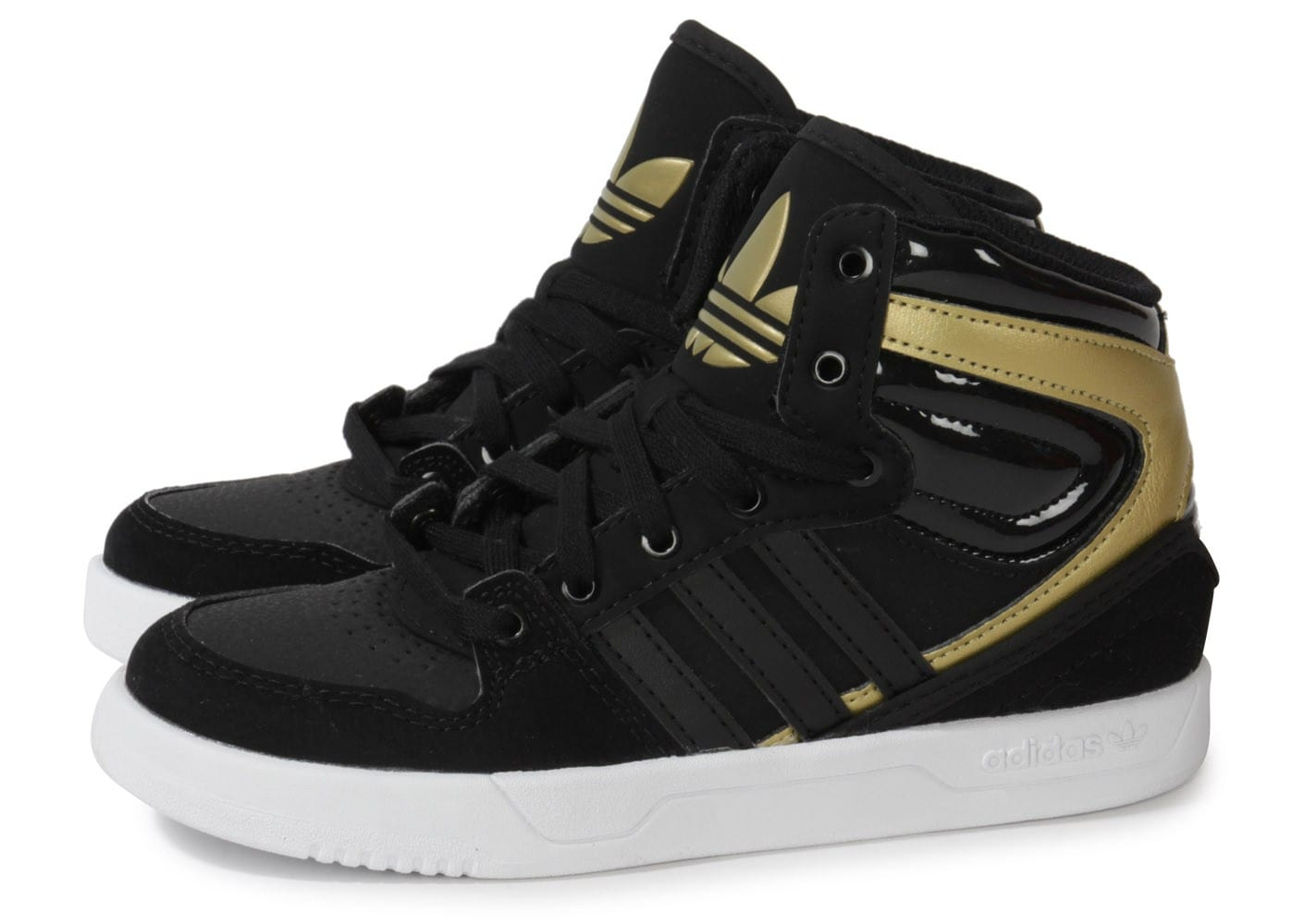 adidas court attitude enfant noir or chaussures adidas chausport. Black Bedroom Furniture Sets. Home Design Ideas