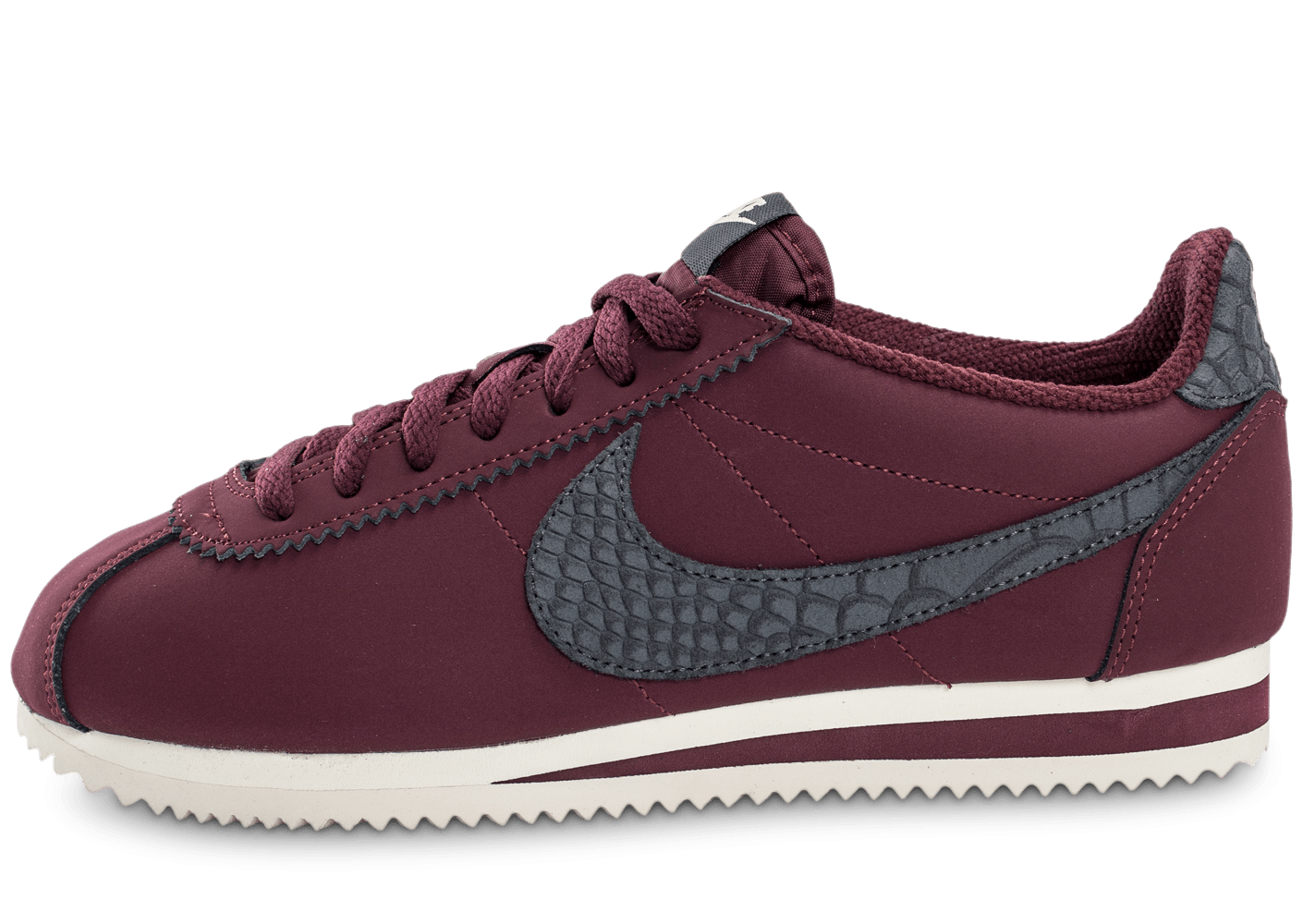 nike cortez leather se bordeaux chaussures homme chausport. Black Bedroom Furniture Sets. Home Design Ideas