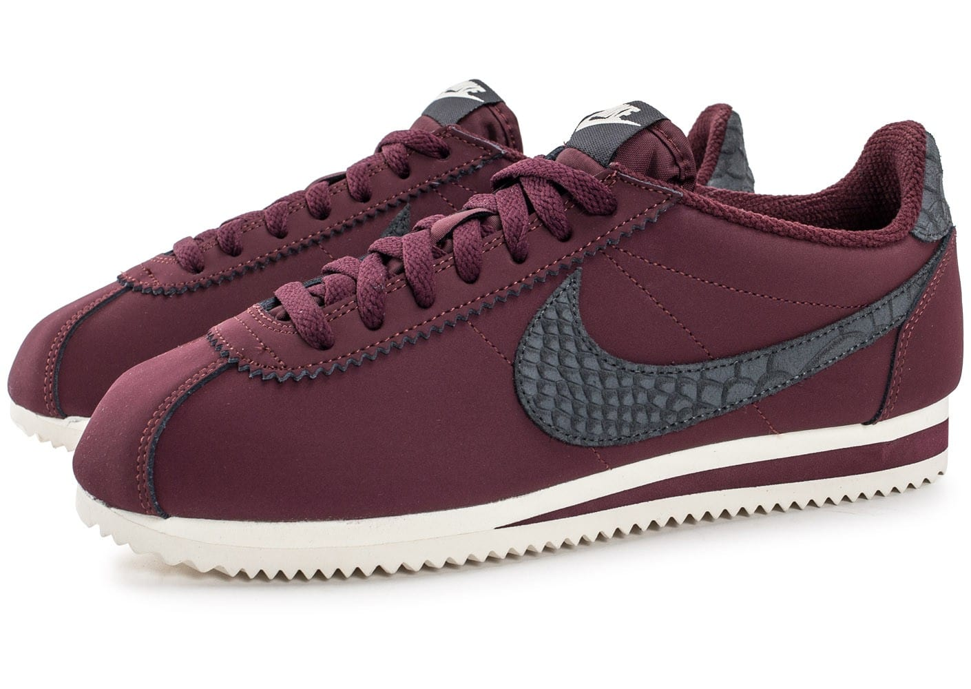 nike cortez femme bordeaux. Black Bedroom Furniture Sets. Home Design Ideas