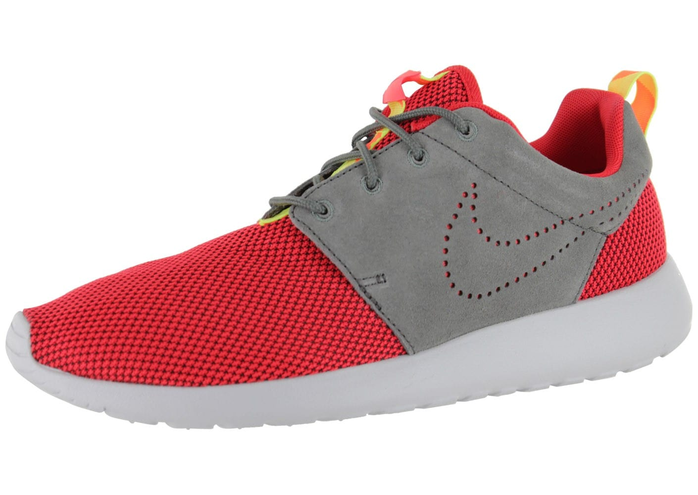 nike roshe run rouge chaussures homme chausport. Black Bedroom Furniture Sets. Home Design Ideas