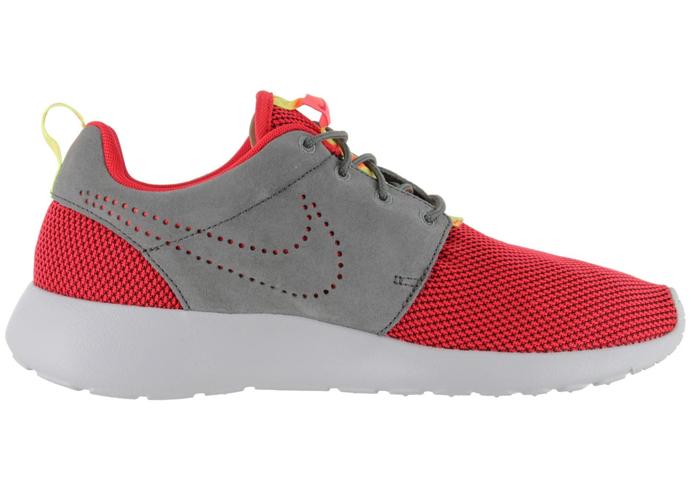 4837 chaussures nike roshe run rouge vue interieure 1