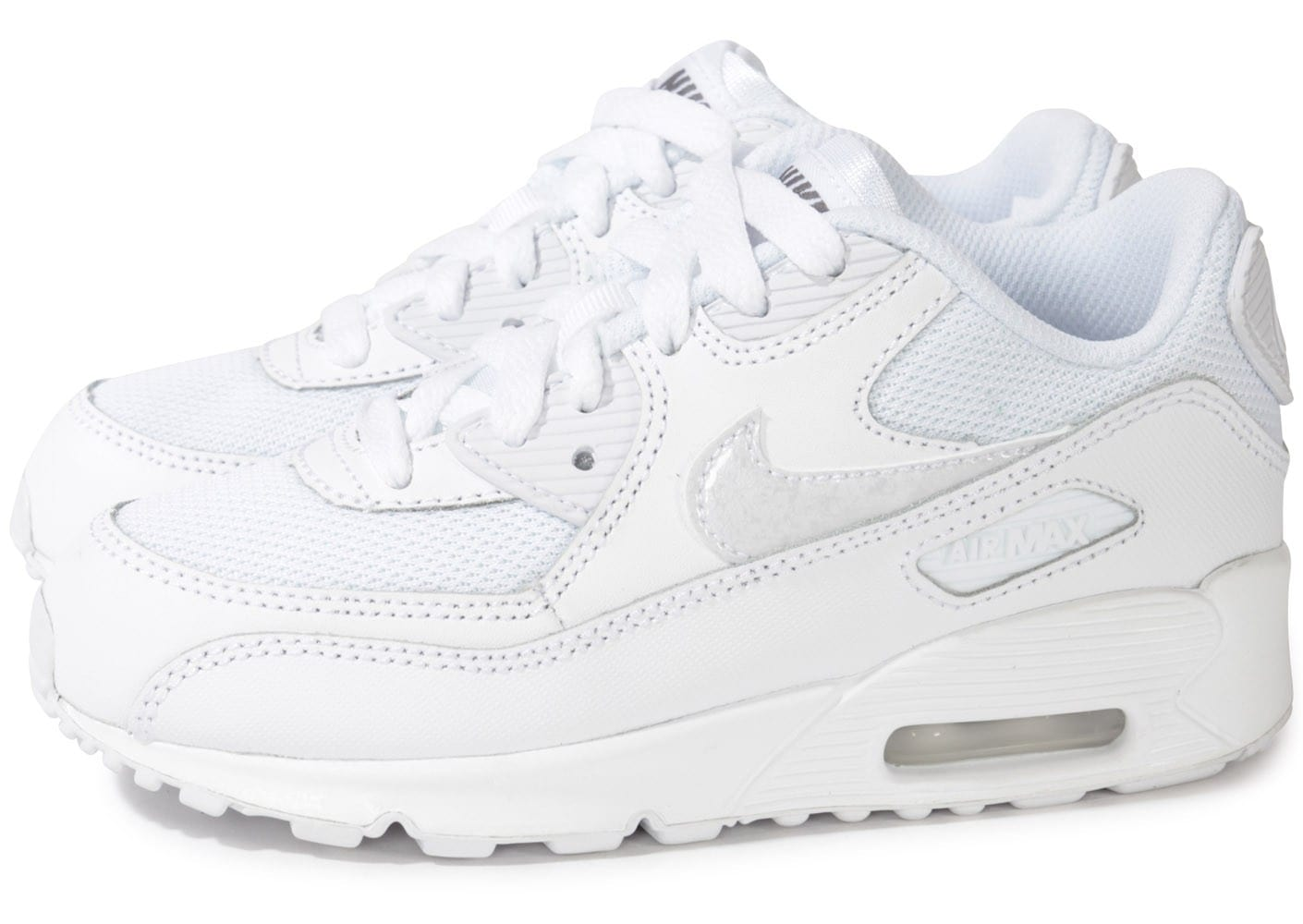 nike air max 90 enfant blanche chaussures chaussures chausport. Black Bedroom Furniture Sets. Home Design Ideas