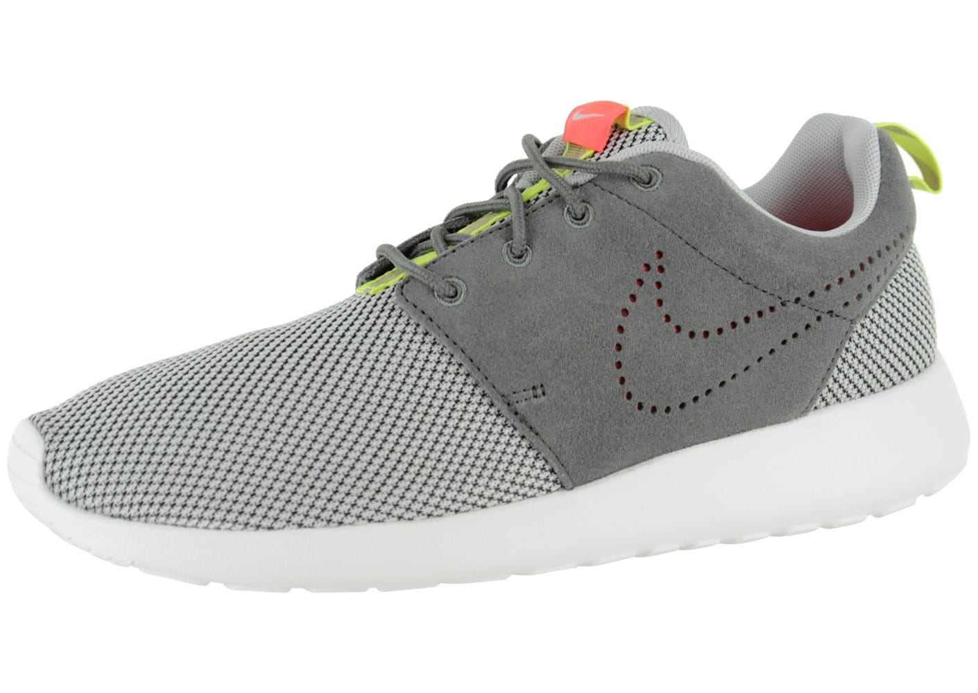chaussures nike roshe run grise