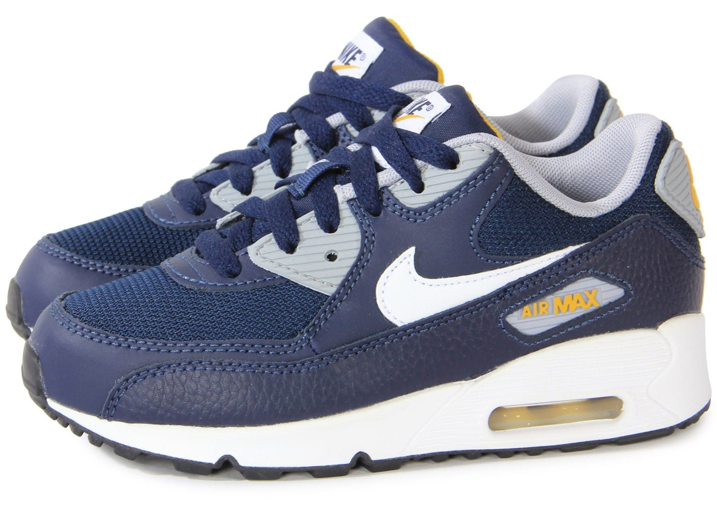 nike air max 90 enfant obsidian chaussures chaussures chausport. Black Bedroom Furniture Sets. Home Design Ideas