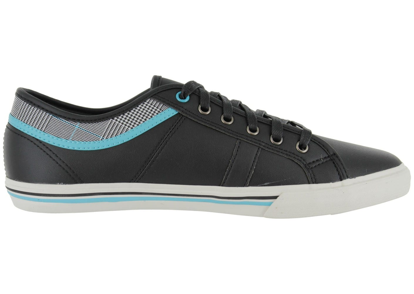le coq sportif ferdinand noir chaussures homme chausport. Black Bedroom Furniture Sets. Home Design Ideas
