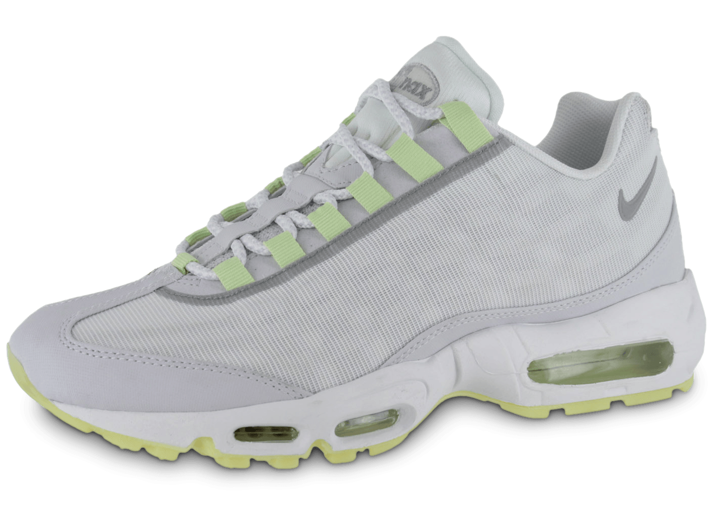 nike air max 95 blanche chaussures homme chausport. Black Bedroom Furniture Sets. Home Design Ideas
