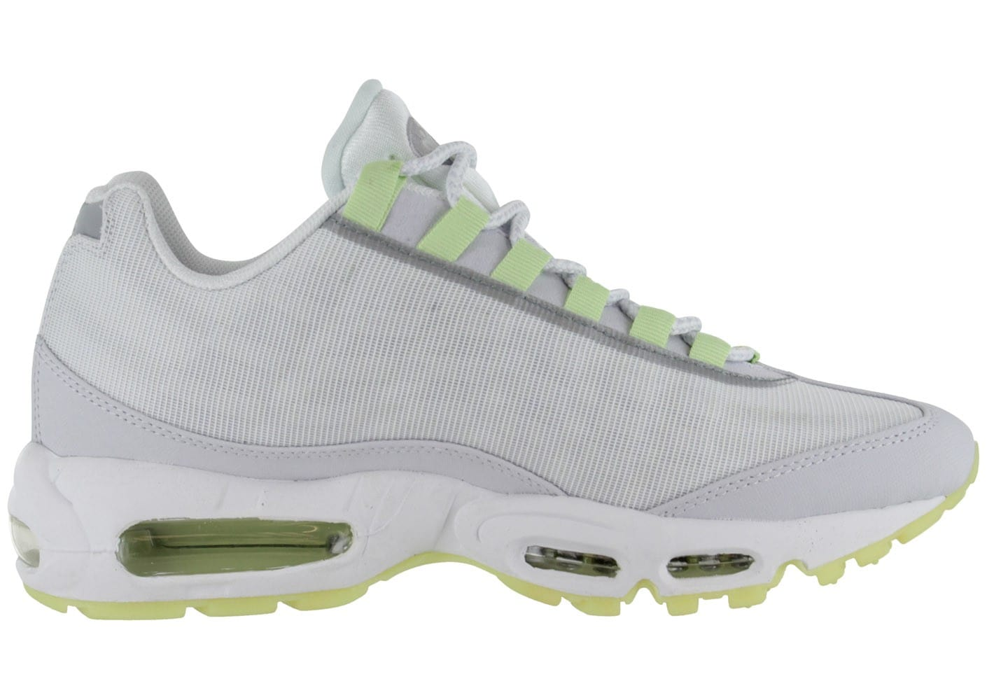 promo code 0af71 dd561 ... chaussures nike air max 95 blanche vue interieure