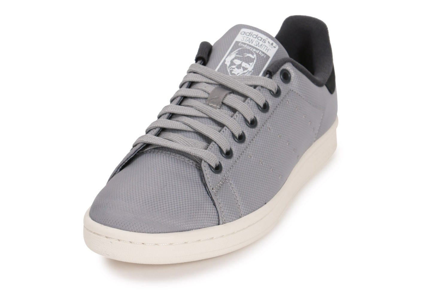 adidas stan smith txt grise chaussures baskets homme chausport. Black Bedroom Furniture Sets. Home Design Ideas