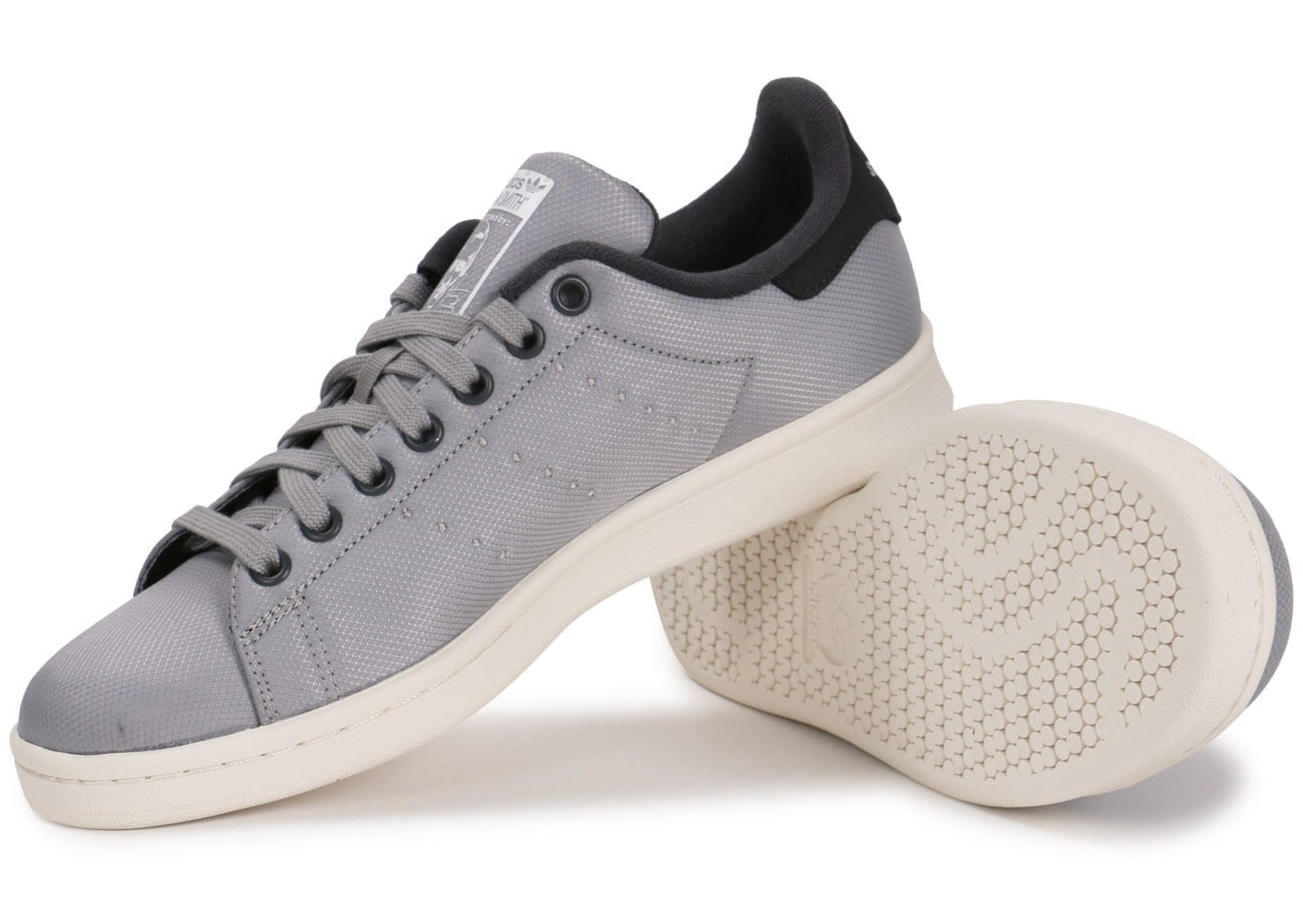 adidas stan smith txt grise chaussures homme chausport. Black Bedroom Furniture Sets. Home Design Ideas