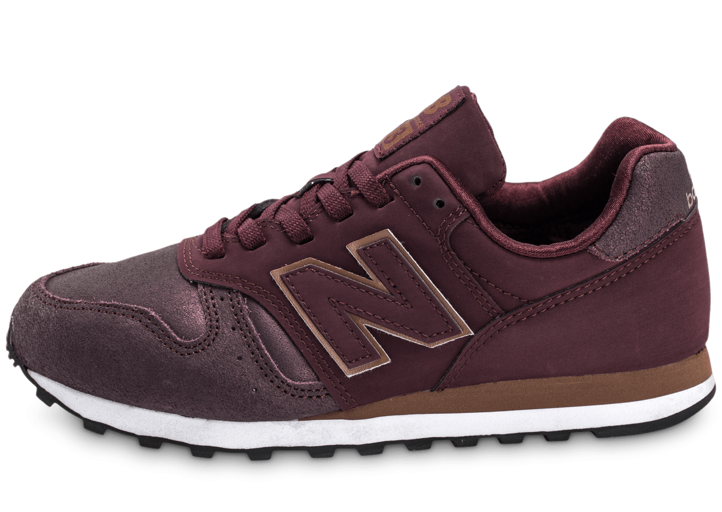 new balance 373 wl 373 pg bordeaux chaussures chaussures chausport. Black Bedroom Furniture Sets. Home Design Ideas