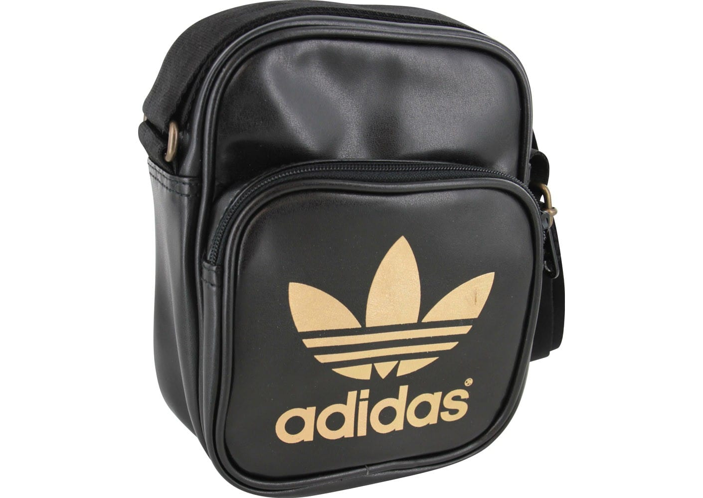 adidas sacoche mini bag noire adidas chausport. Black Bedroom Furniture Sets. Home Design Ideas