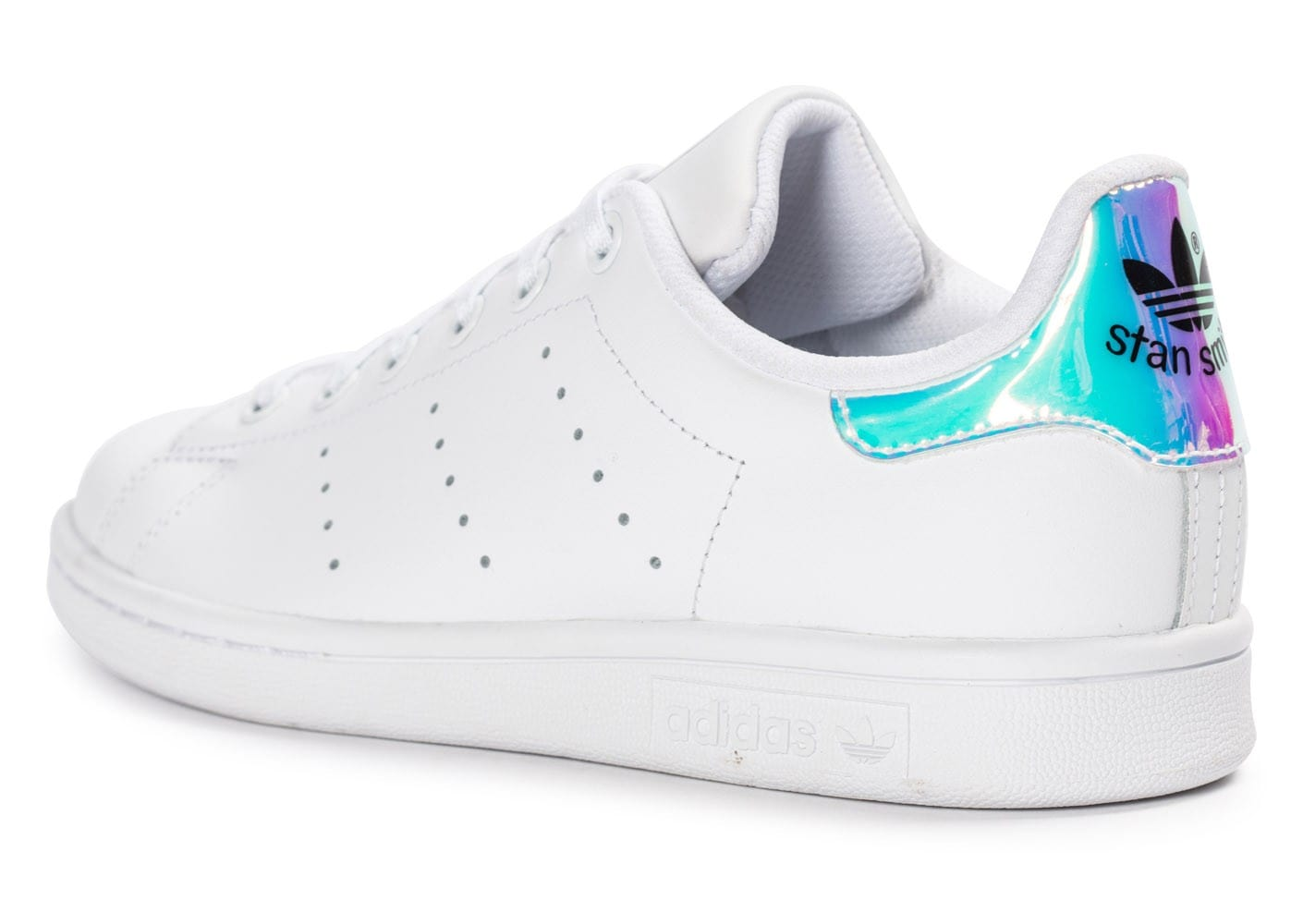 adidas stan smith iridescente blanche chaussures adidas chausport. Black Bedroom Furniture Sets. Home Design Ideas