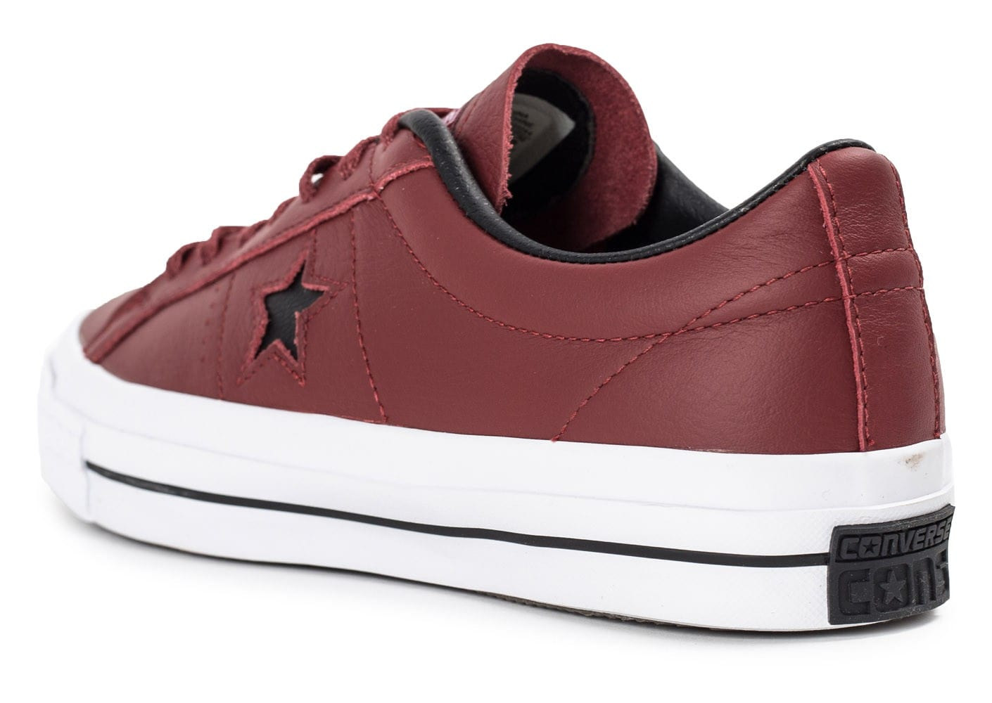 converse one star leather bordeaux chaussures homme. Black Bedroom Furniture Sets. Home Design Ideas