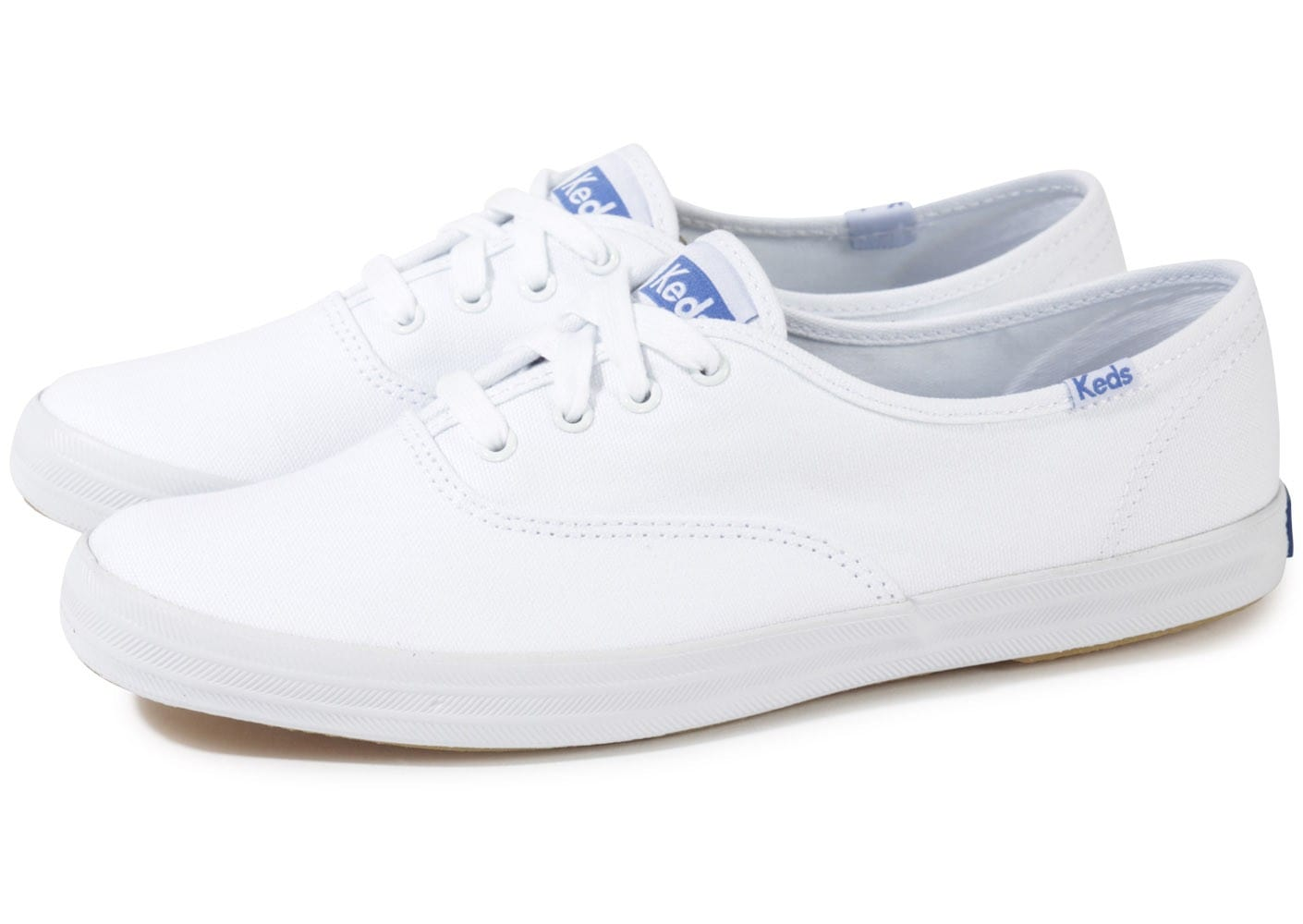 keds champion originals toile blanche chaussures chaussures chausport. Black Bedroom Furniture Sets. Home Design Ideas