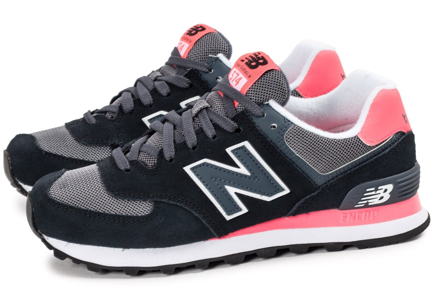 new balance 574 rouge noir