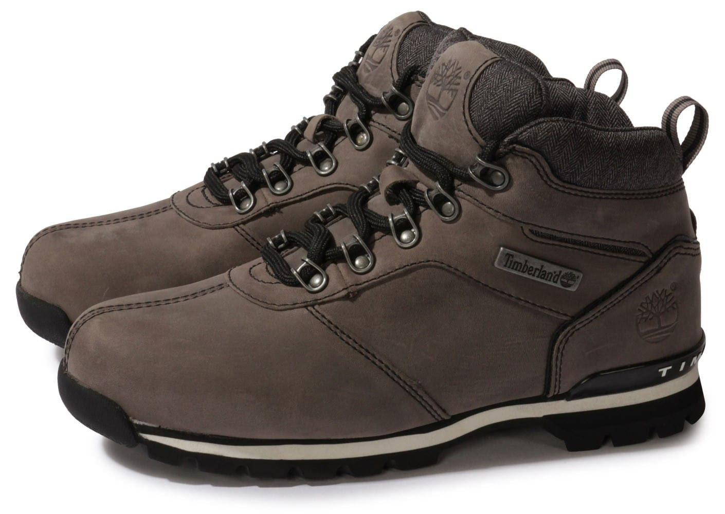 timberland splitrock 2 gris ch taigne chaussures homme chausport. Black Bedroom Furniture Sets. Home Design Ideas