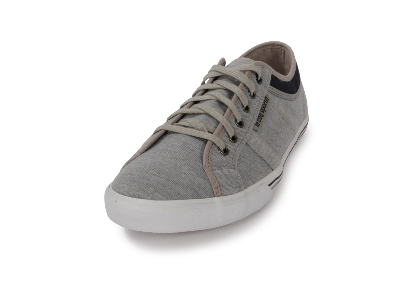 le coq sportif ferdinand jersey gris chaussures homme chausport. Black Bedroom Furniture Sets. Home Design Ideas