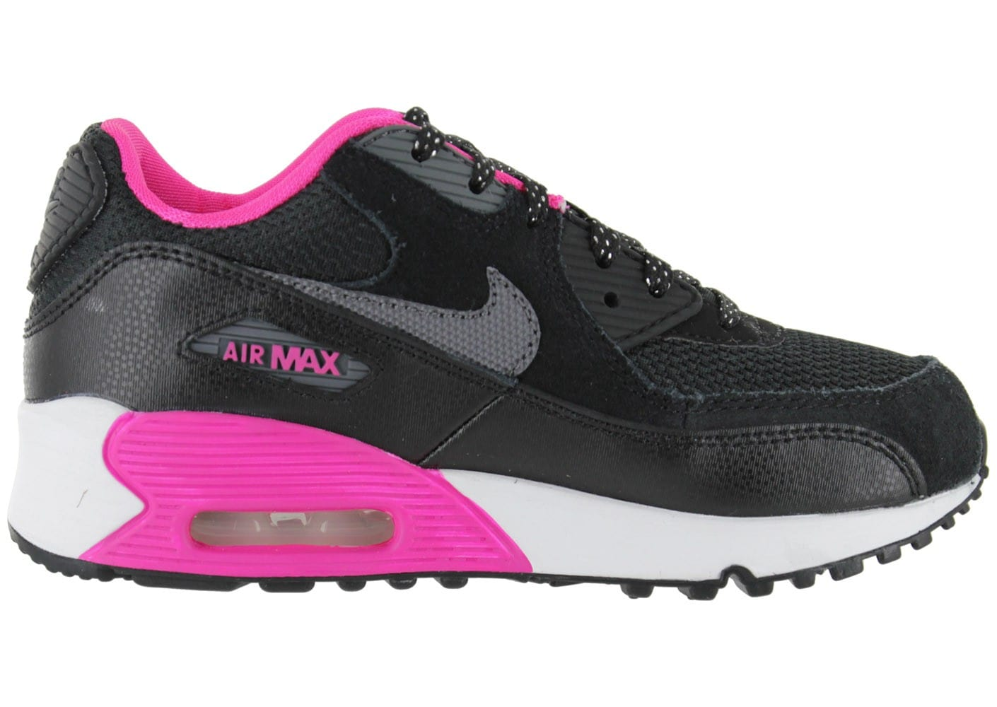 nike air max 90 enfant noire chaussures chaussures chausport. Black Bedroom Furniture Sets. Home Design Ideas