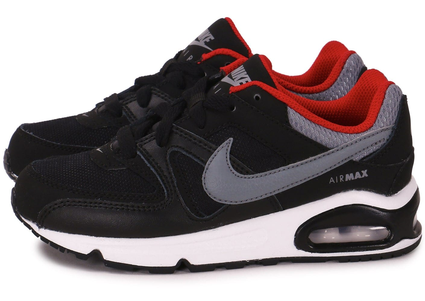 Nike Air Max Grise Et Rouge