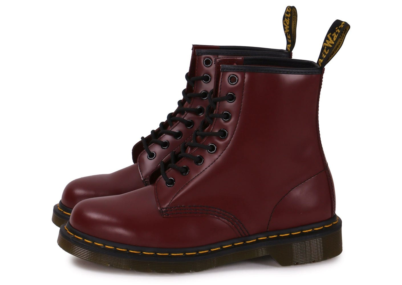 dr martens 1460 cherry red chaussures homme chausport. Black Bedroom Furniture Sets. Home Design Ideas