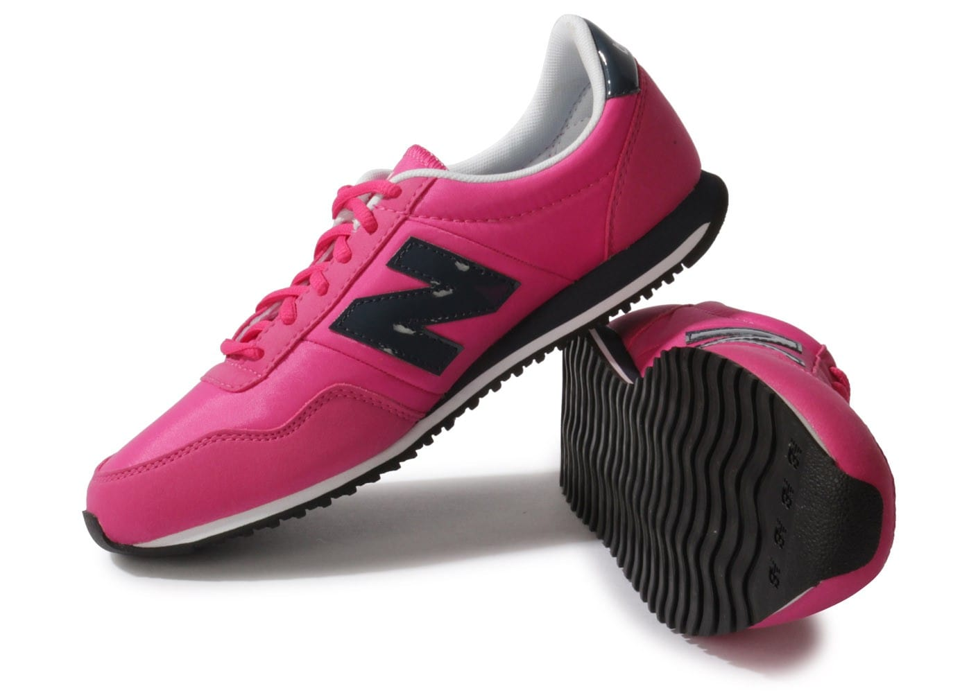 new balance u395 bleu marine rose