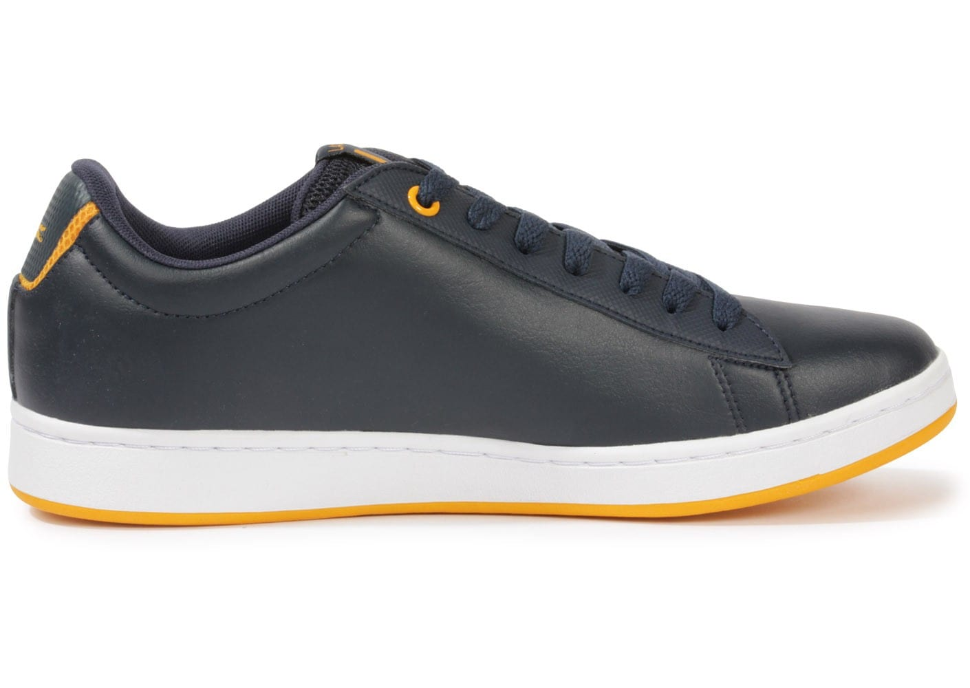 lacoste carnaby evo bleu marine chaussures homme chausport. Black Bedroom Furniture Sets. Home Design Ideas