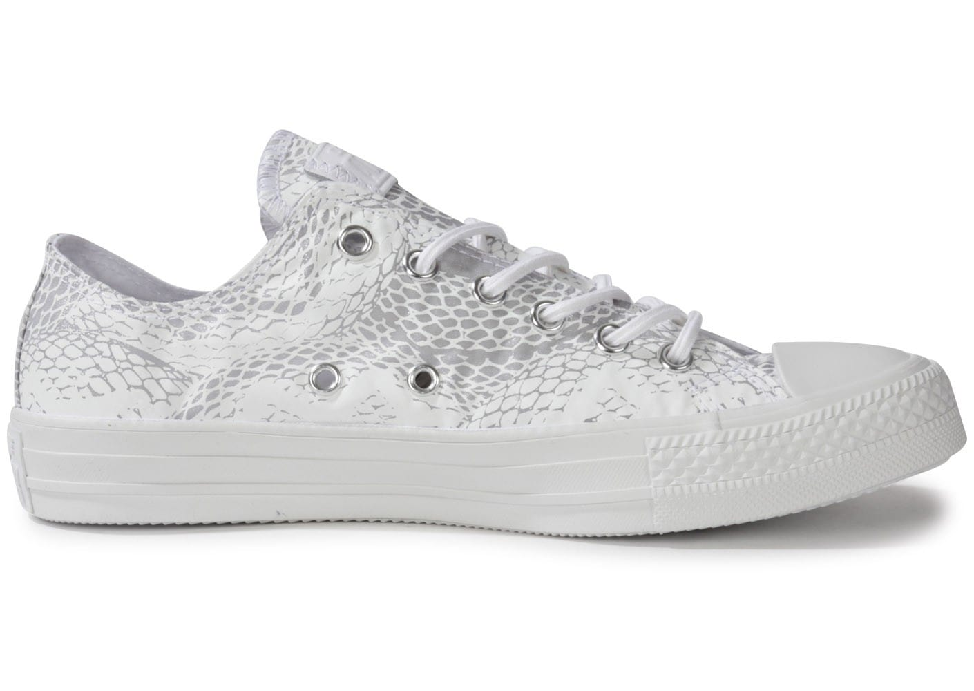 converse chuck taylor all star reptile blanche chaussures chaussures chausport. Black Bedroom Furniture Sets. Home Design Ideas