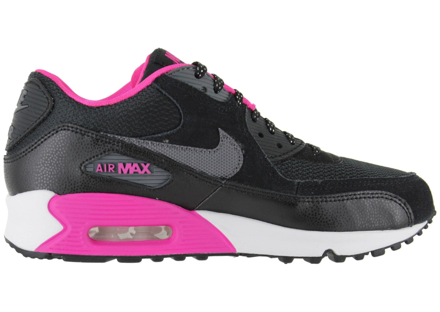 nike air max 90 junior noire chaussures chaussures chausport. Black Bedroom Furniture Sets. Home Design Ideas