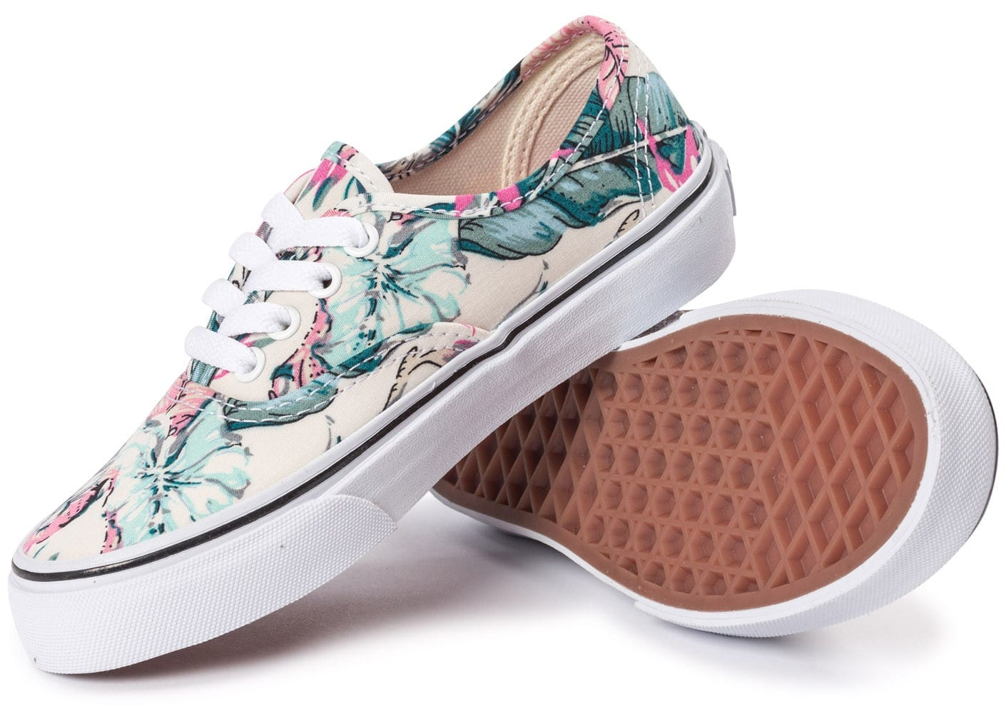 soldes vans authentic enfant floral chaussures toutes les baskets sold es chausport. Black Bedroom Furniture Sets. Home Design Ideas