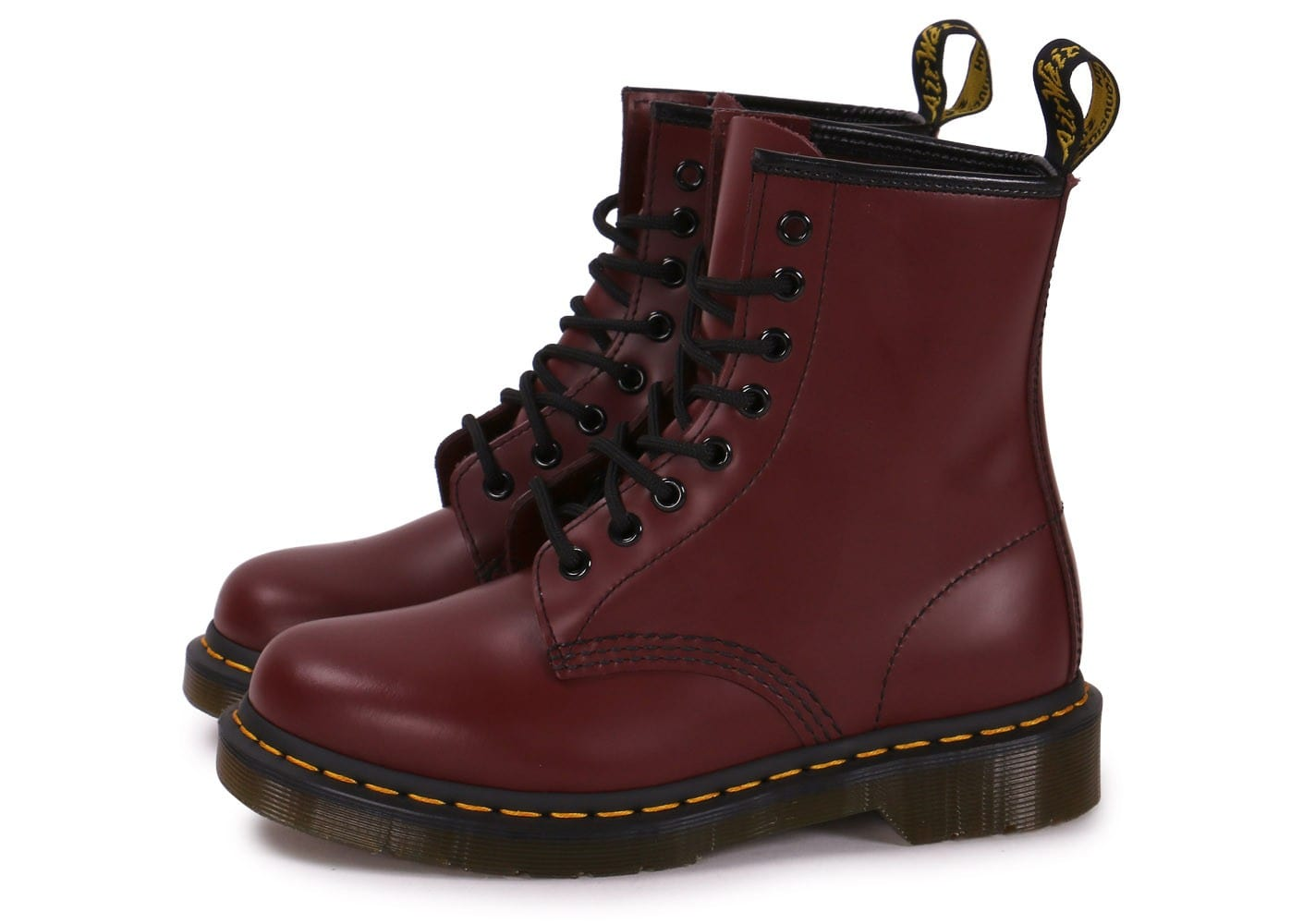 dr martens 1460 cherry red chaussures black friday chausport. Black Bedroom Furniture Sets. Home Design Ideas