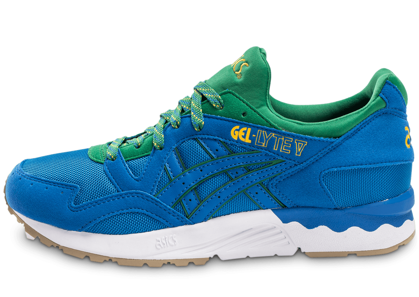 asics gel lyte v rio pack bleue chaussures homme chausport. Black Bedroom Furniture Sets. Home Design Ideas