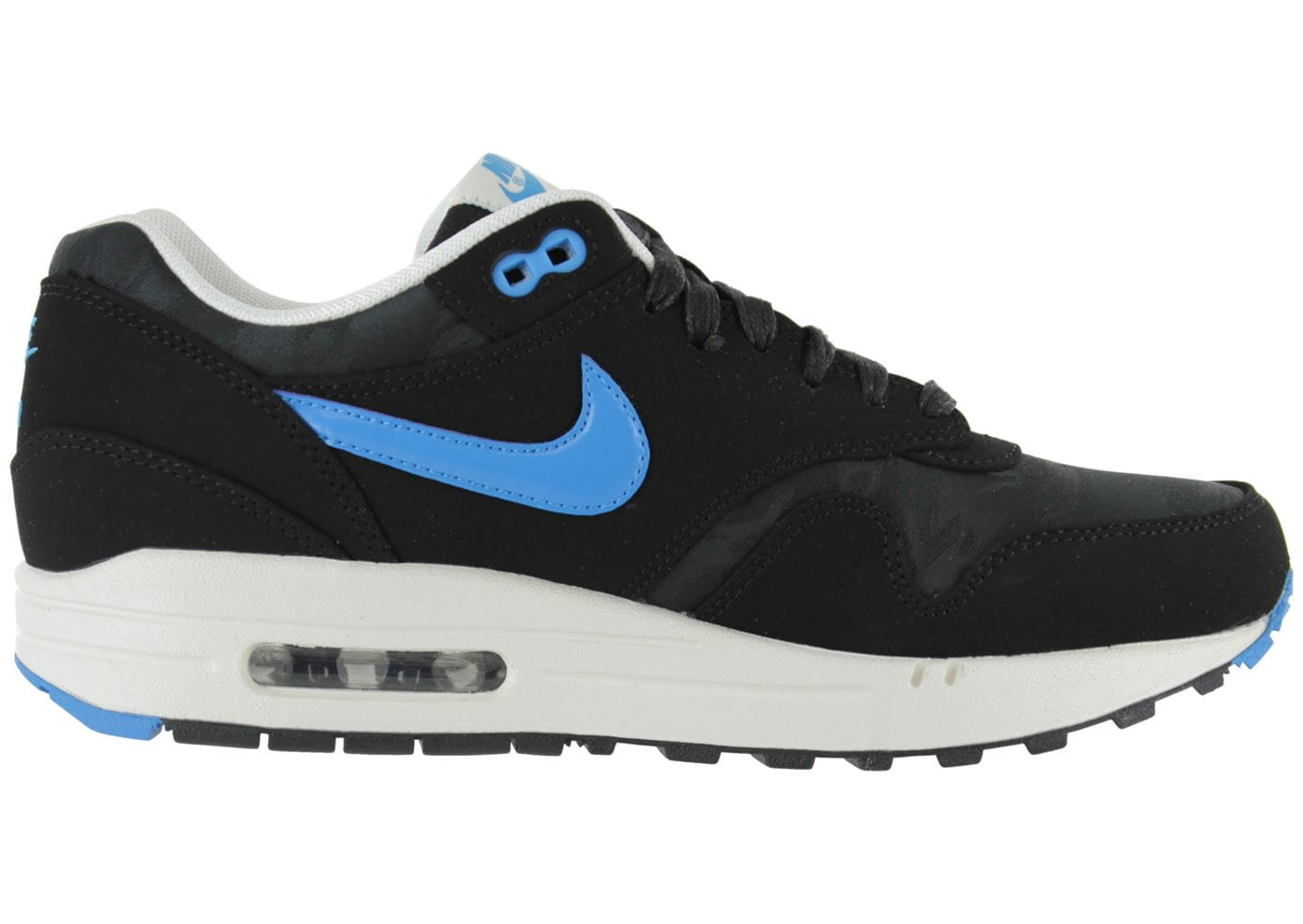 nike air max 1 premium noire chaussures homme chausport. Black Bedroom Furniture Sets. Home Design Ideas