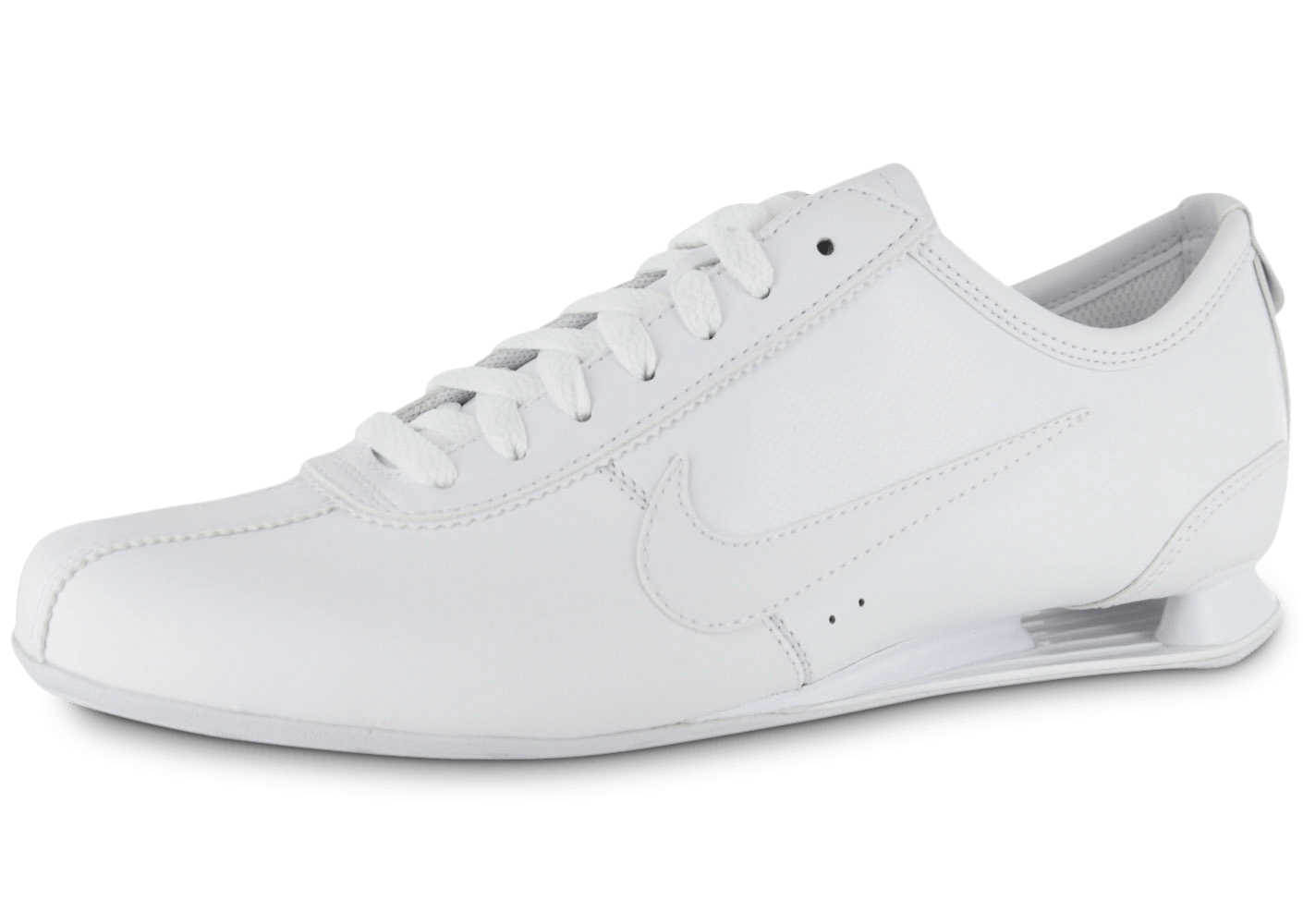 nike shox rivalry blanche chaussures homme chausport. Black Bedroom Furniture Sets. Home Design Ideas