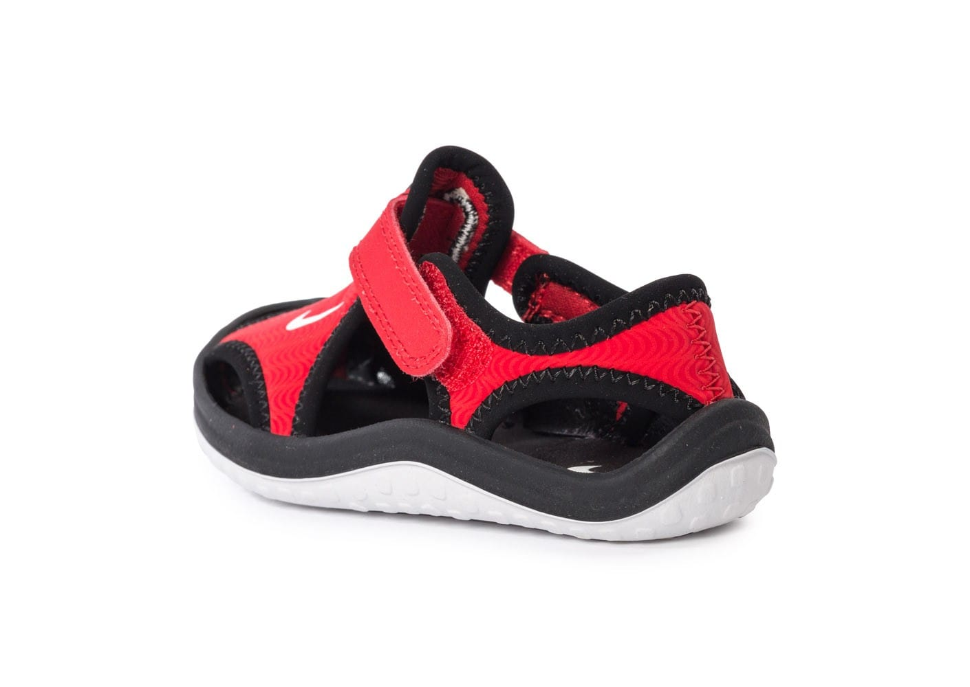 factory authentic 60d7e 17642 ... chaussures nike sunray protect bebe rouge vue arriere