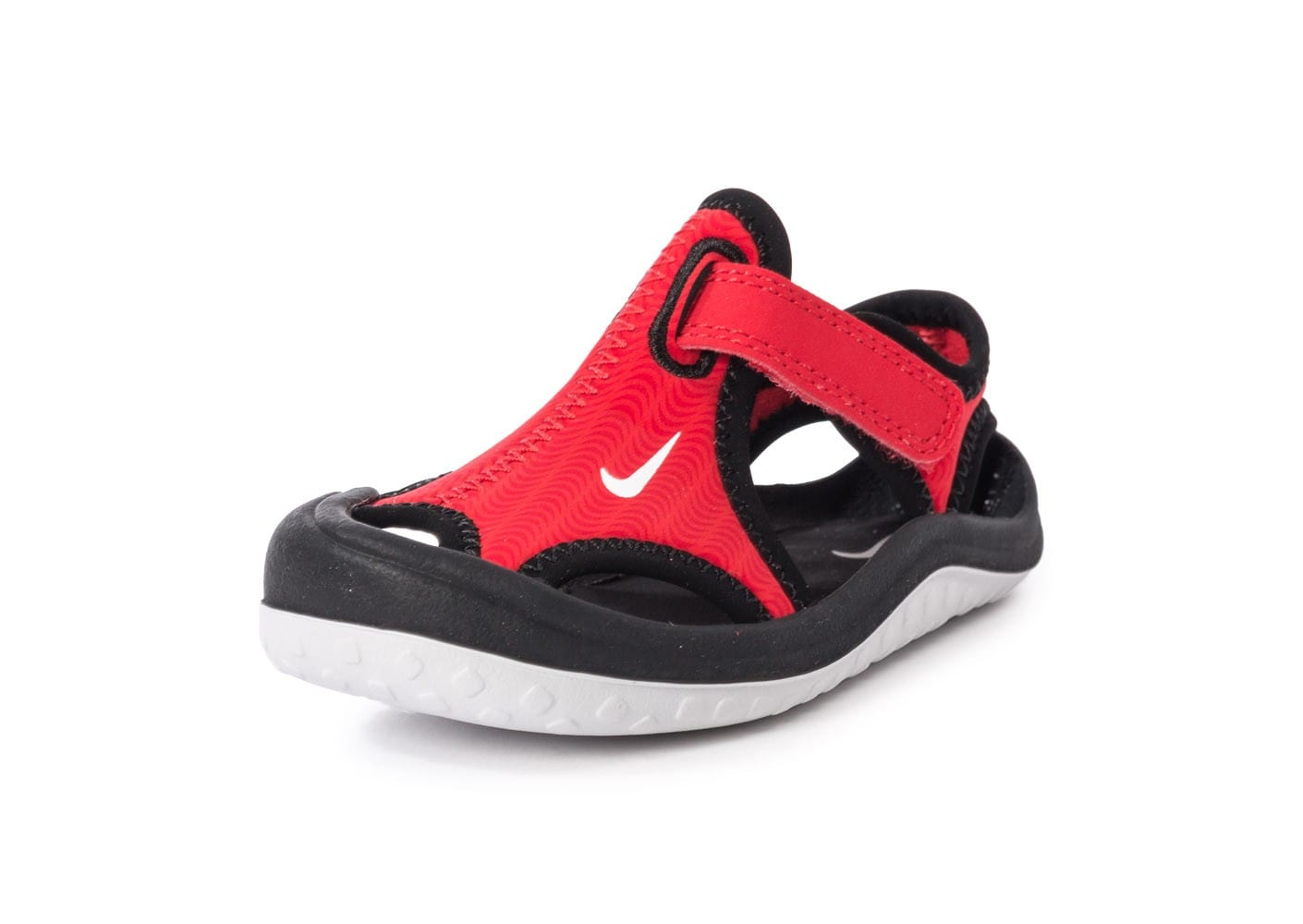 online store c187d 55211 ... chaussures nike sunray protect bebe rouge vue avant