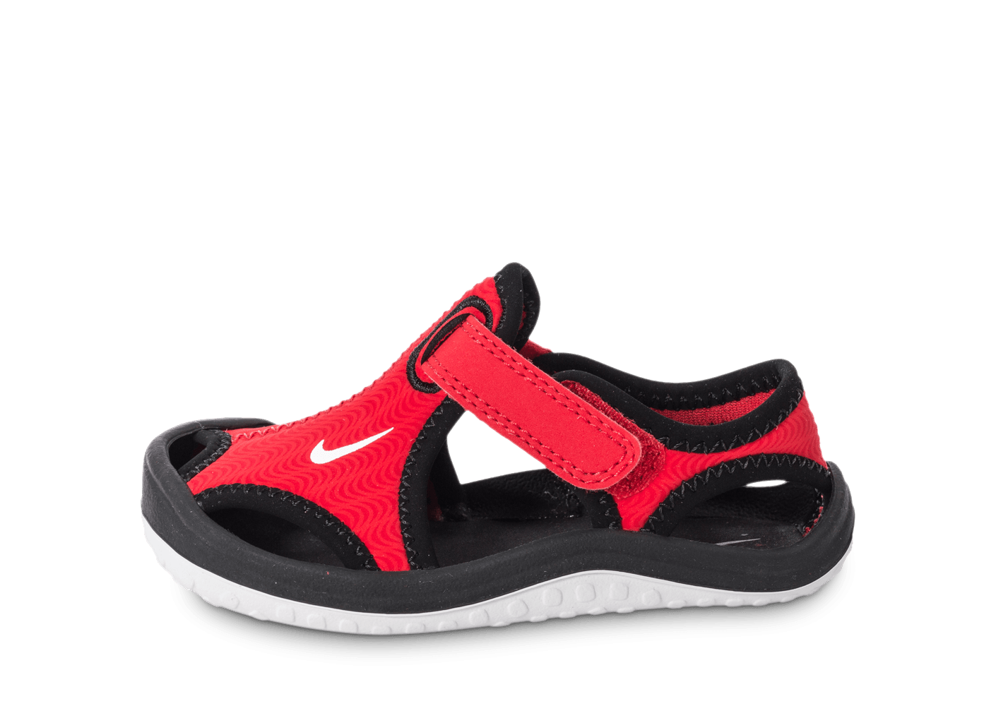 100% authentic e6505 703e7 chaussures nike sunray protect bebe rouge vue exterieure