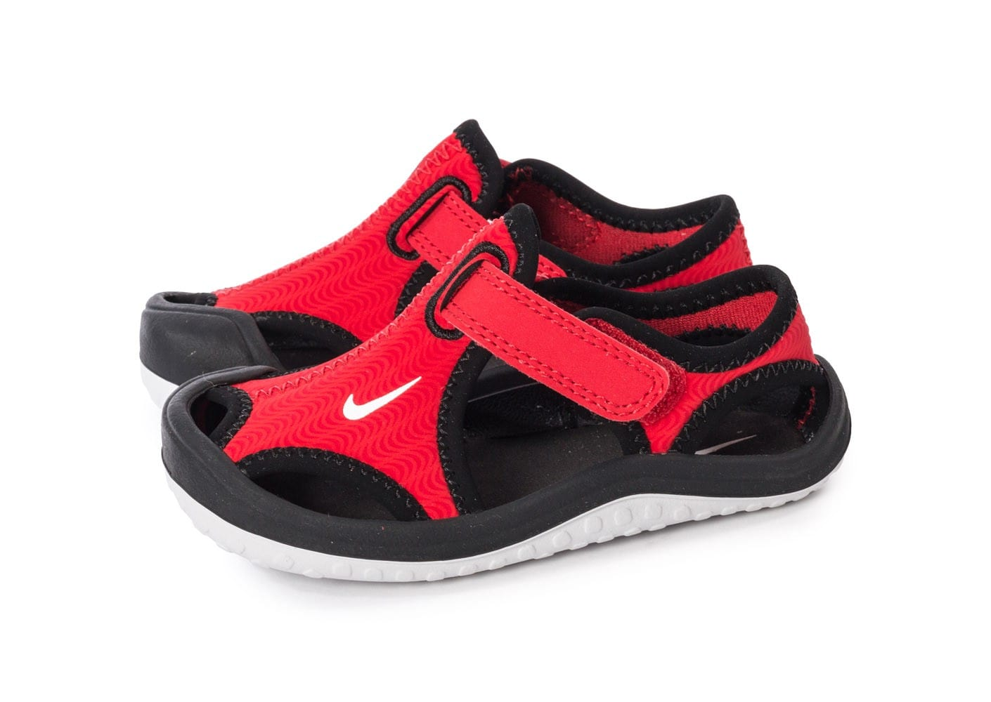 save off 52d2e 62dff Nike Sunray Protect Bébé rouge - Chaussures Chaussures .