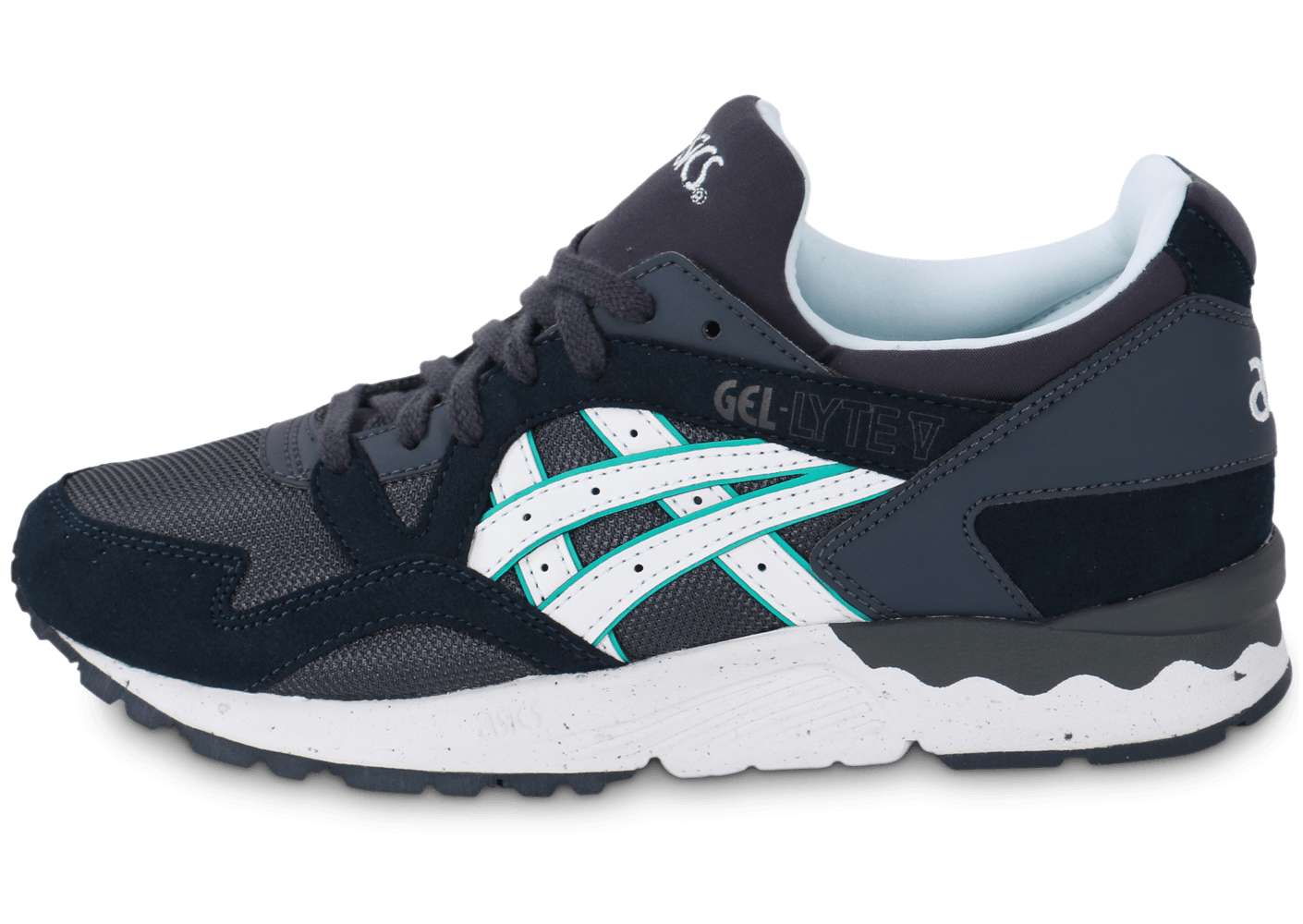 asics gel lyte v f grise chaussures chaussures chausport. Black Bedroom Furniture Sets. Home Design Ideas