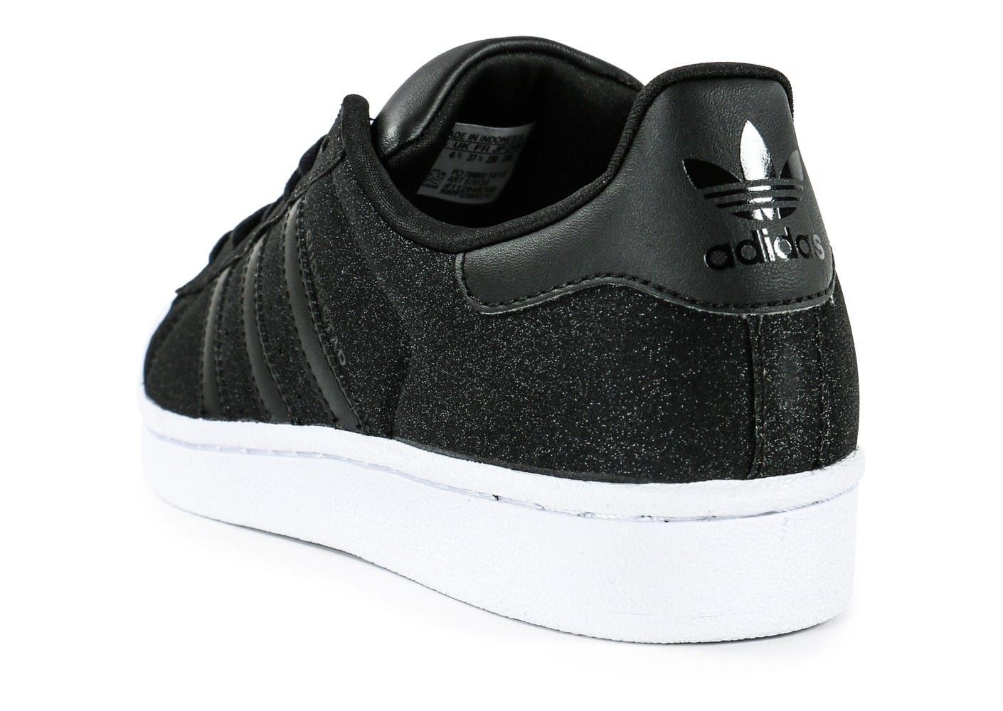 adidas superstar paillet e noire chaussures adidas chausport. Black Bedroom Furniture Sets. Home Design Ideas