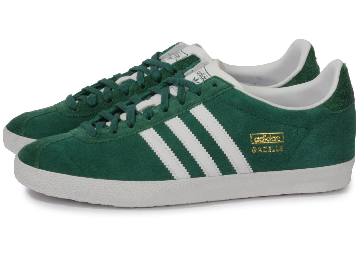 adidas gazelle og verte chaussures homme chausport. Black Bedroom Furniture Sets. Home Design Ideas
