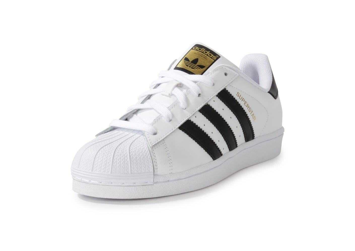 adidas superstar foundation blanc noir chaussures homme. Black Bedroom Furniture Sets. Home Design Ideas