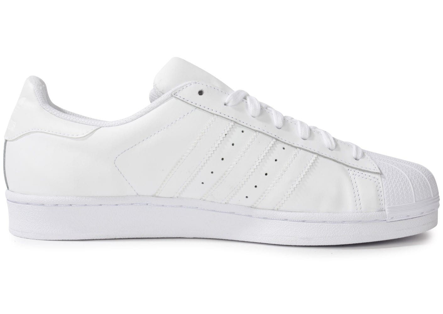 France Adidas Superstar Foundation soldes Blanche 76ybfg