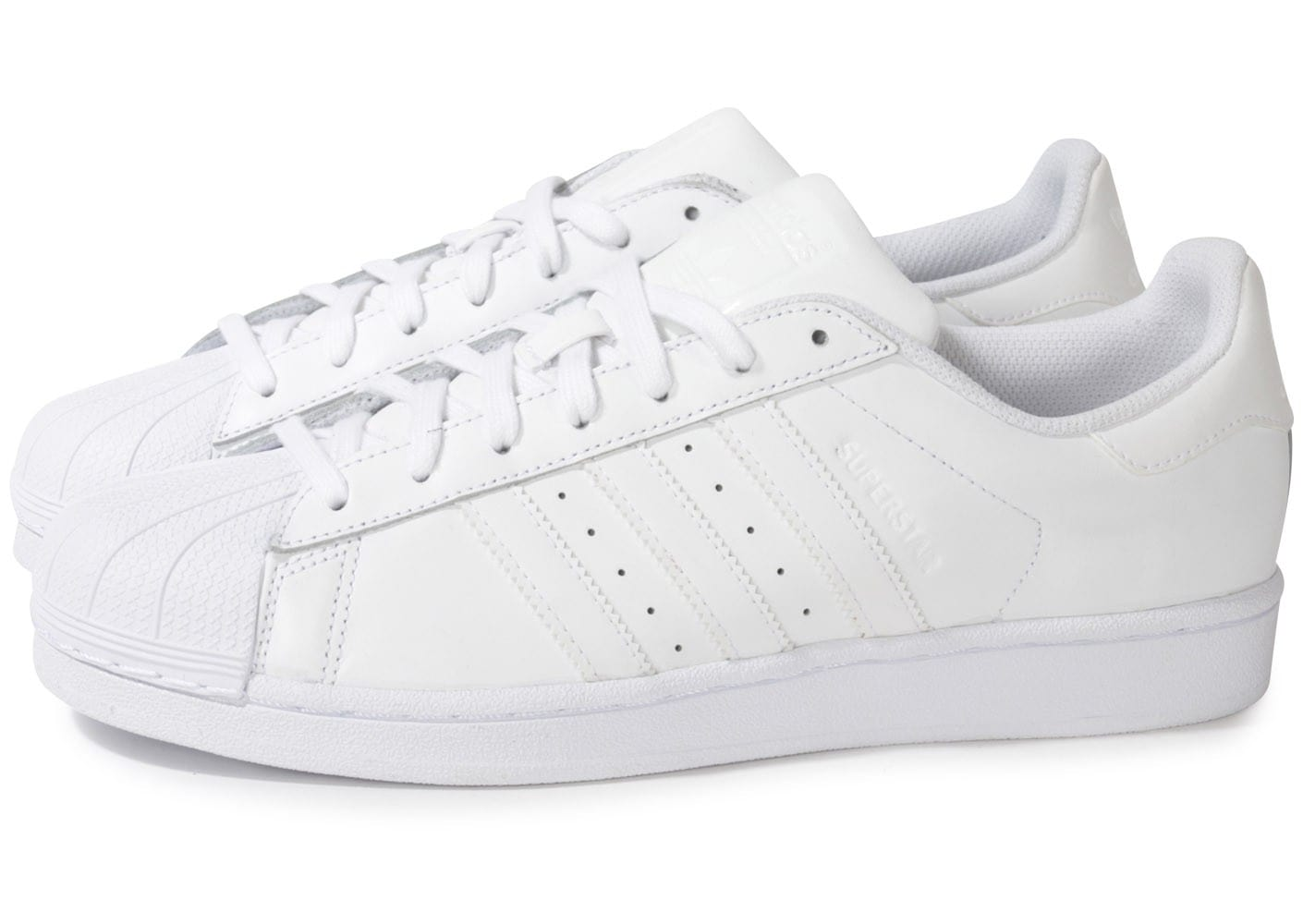 adidas superstar foundation blanche chaussures homme chausport. Black Bedroom Furniture Sets. Home Design Ideas