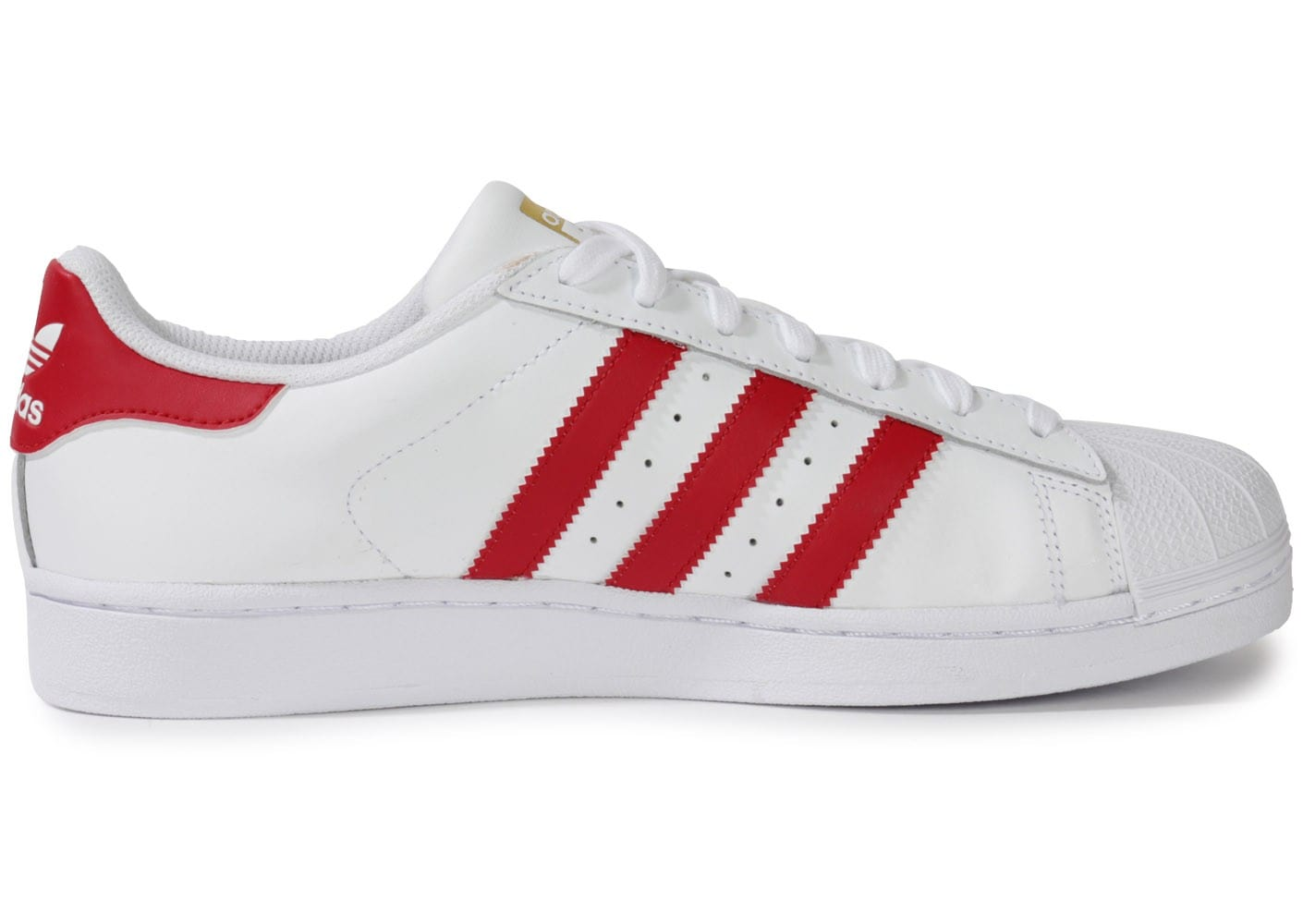 adidas superstar blanche et rouge chaussures homme. Black Bedroom Furniture Sets. Home Design Ideas