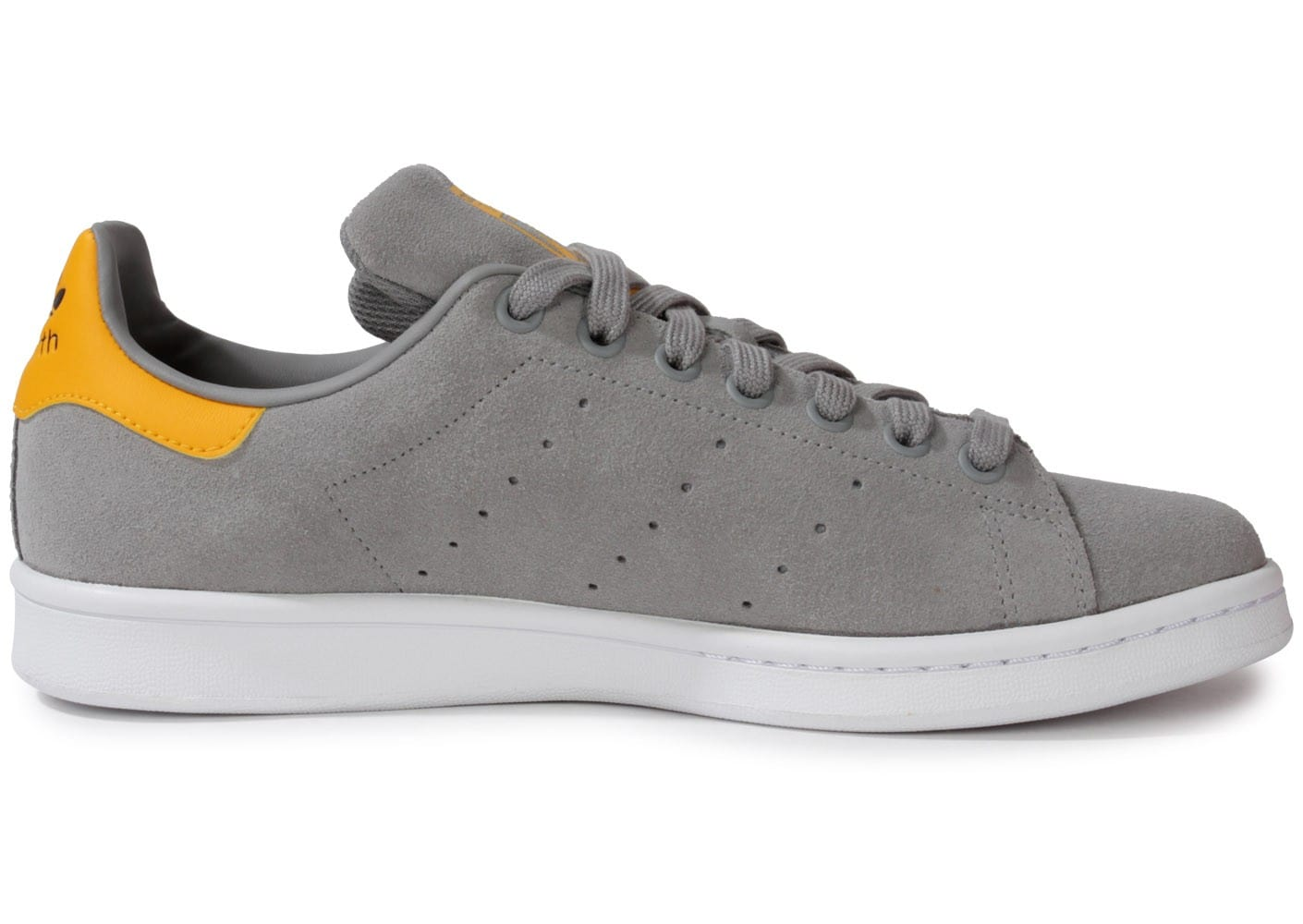 Chaussures adidas STAN SMITH GRISE GOLD vue dessous