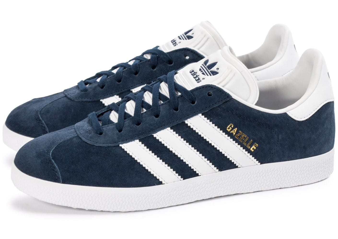 adidas gazelle bleu marine et blanche chaussures homme chausport. Black Bedroom Furniture Sets. Home Design Ideas