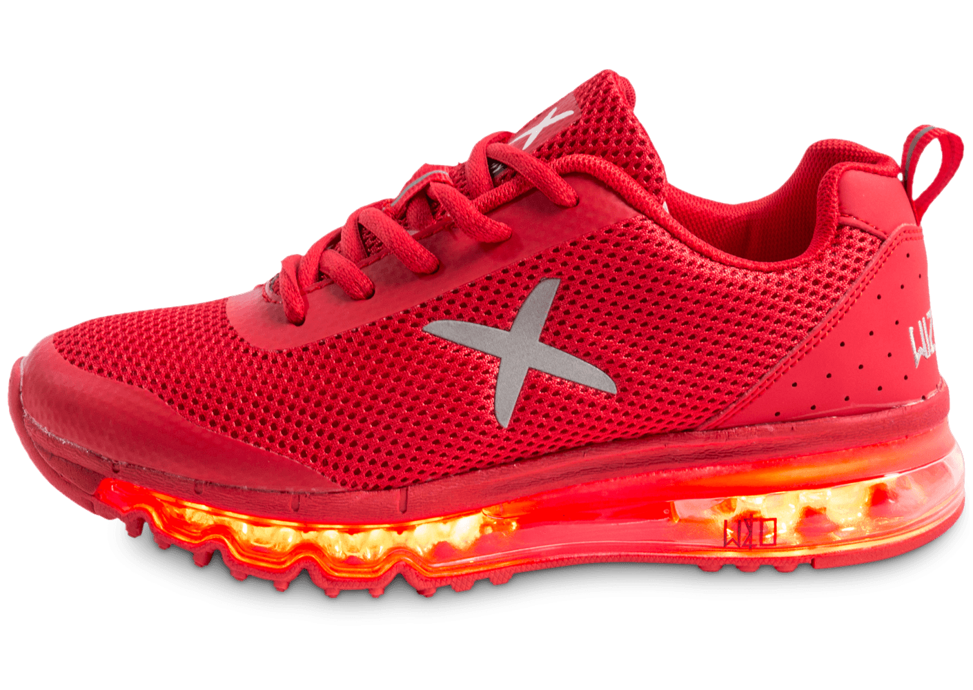 wize ope light xrun led f rouge chaussures chaussures chausport. Black Bedroom Furniture Sets. Home Design Ideas